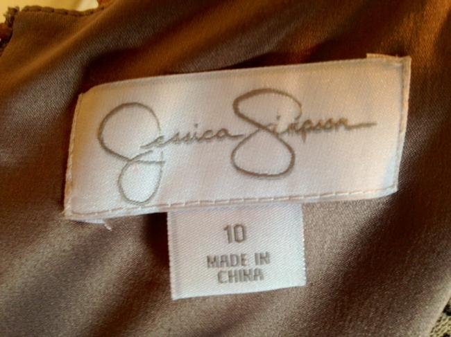 Jessica Simpson short dress Sunset New With Tags Lined on Tradesy