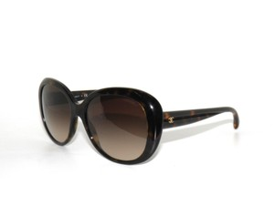Chanel Chanel Oval Dark Tortoise Signature 5312 Sunglasses