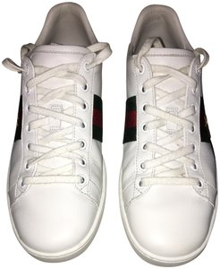 gucci white / green / red Athletic