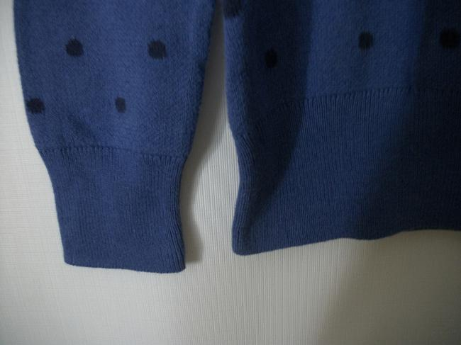 Liz Claiborne Blue Longsleeve Sweat Winter Sweater Image 3
