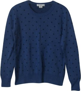 Liz Claiborne Blue Longsleeve Sweat Winter Sweater