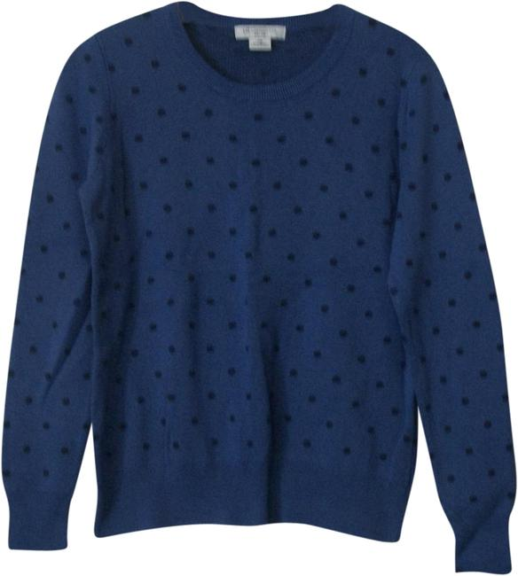 Preload https://img-static.tradesy.com/item/22401661/liz-claiborne-petite-blue-black-shirt-size-medium-multicolor-sweater-0-4-650-650.jpg
