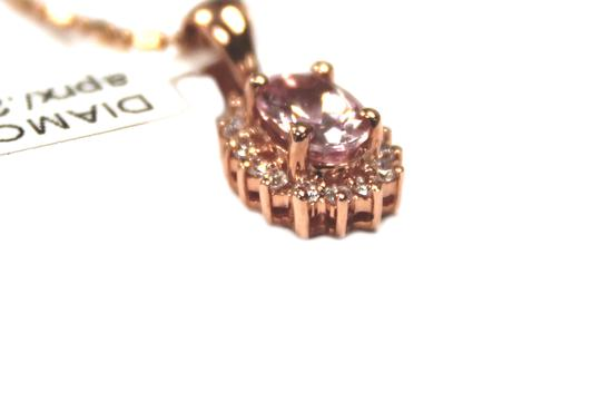 Other 14 K Rose Gold chain with Diamond Ladies Necklace Image 2