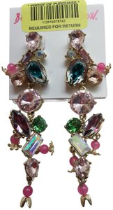 Betsey Johnson Betsey Johnson New Multi-Gem Earrings
