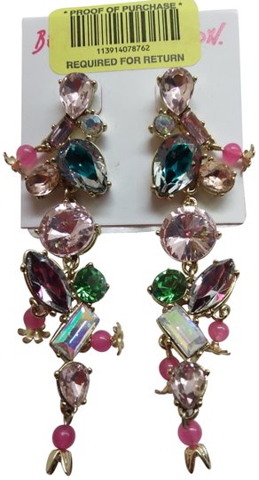 Betsey Johnson Betsey Johnson New Multi-Gem Earrings Image 0
