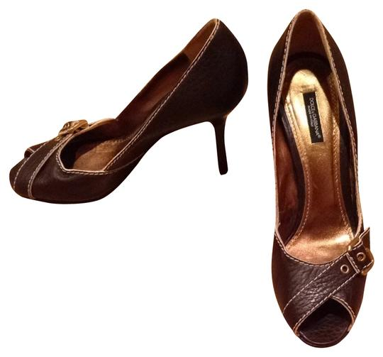 Preload https://item3.tradesy.com/images/dolce-and-gabbana-brown-pumps-size-us-9-regular-m-b-2240222-0-0.jpg?width=440&height=440