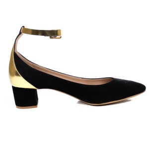 Chlo Formal Heel Casual Black Pumps
