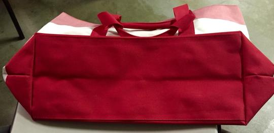 Tommy Hilfiger Red/white Beach Bag