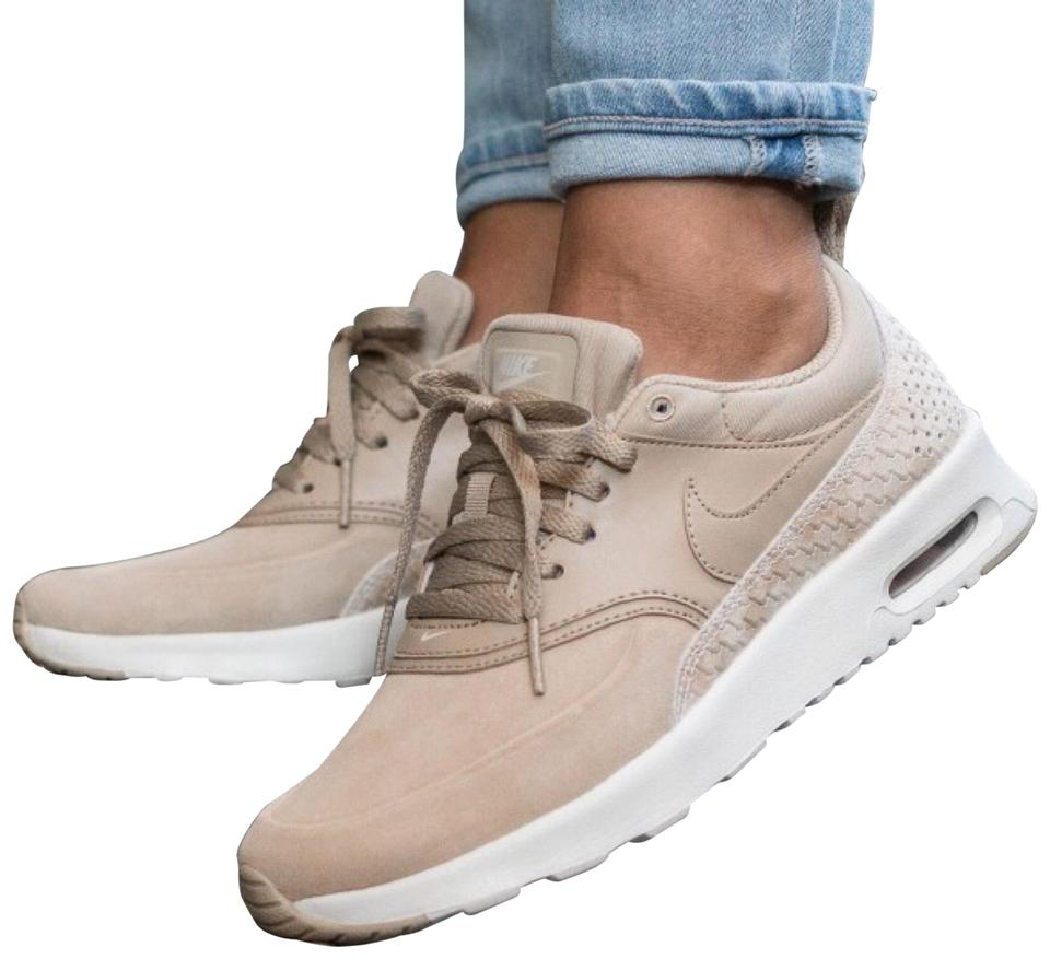 the best attitude ca000 24877 Nike Women s Air Max Thea Premium Trainers Linen Sneaker Lends Understated  Style and Ultralight Cushioning For Everyday Sneakers