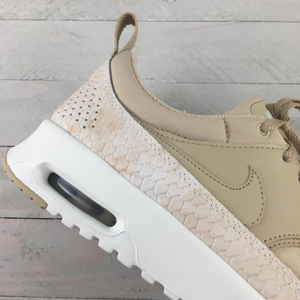 Nike Women's Air Max Thea Premium Trainers Linen Lends Understated Style and Ultralight Cushioning For Everyday Sneakers Size US 9.5 Narrow (Aa, N)