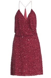 MLV Night Out Date Night Sequin Party Cut-out Dress