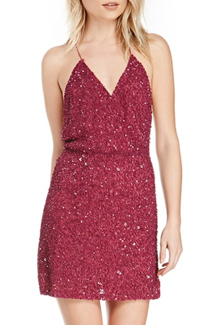 MLV Night Out Date Night Sequin Party Cut-out Dress Image 2