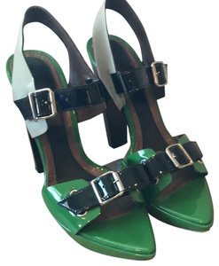 Marni Green and black Sandals