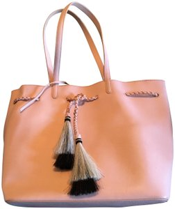 Loeffler Randall Tote in natural vachetta leather