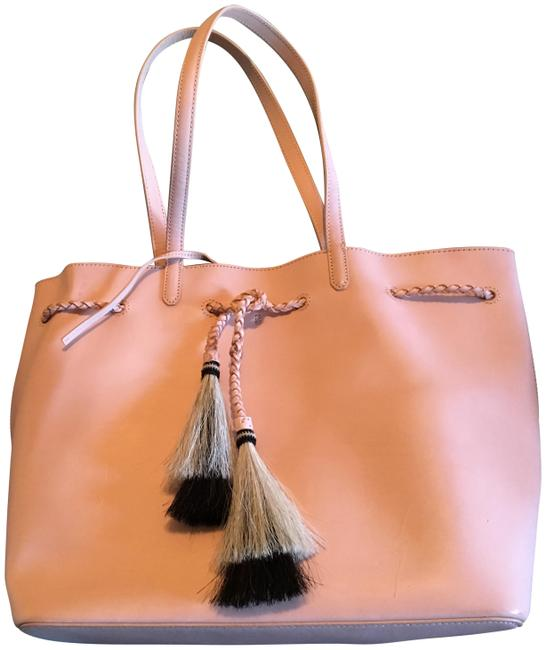 Item - Horse Hair Natural Vachetta Leather Tote