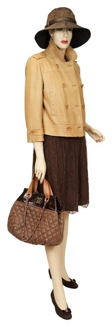 See by Chloé Camel/Brown Leather Jacket