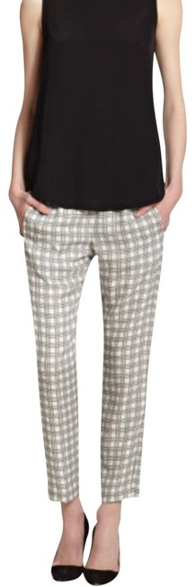 Item - White & Black Korene Pants Size 8 (M, 29, 30)