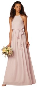 Donna Morgan Palest Pink Bhldn Alana Dress