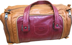 See by Chlo Chole Chloe Leather Satchel in camel and wine