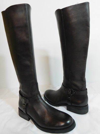 Vince Camuto Leather Brown Boots Image 1