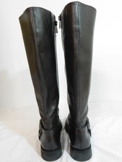 Vince Camuto Leather Brown Boots Image 3
