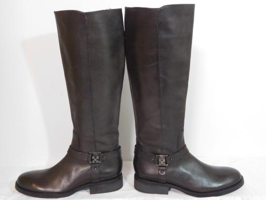 Vince Camuto Leather Brown Boots Image 5