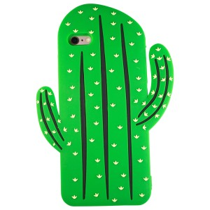 Sunology Sunology iPhone 7 Plus Rubber Case Cactus Green