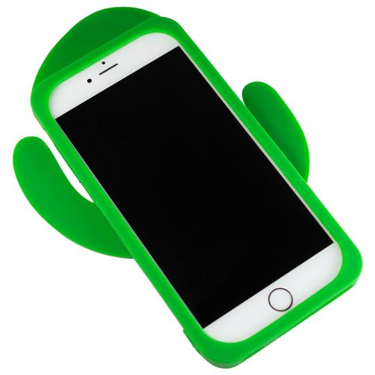 Sunology Sunology iPhone 7 Plus Rubber Case Cactus Green Image 1