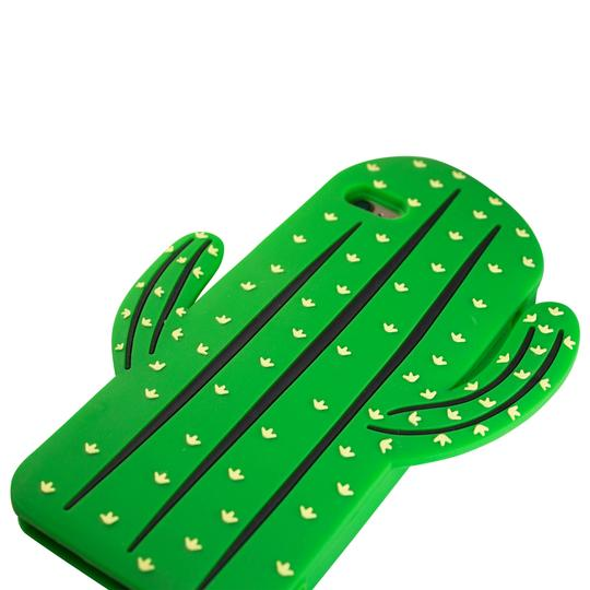Sunology Sunology iPhone 7 Plus Rubber Case Cactus Green Image 2