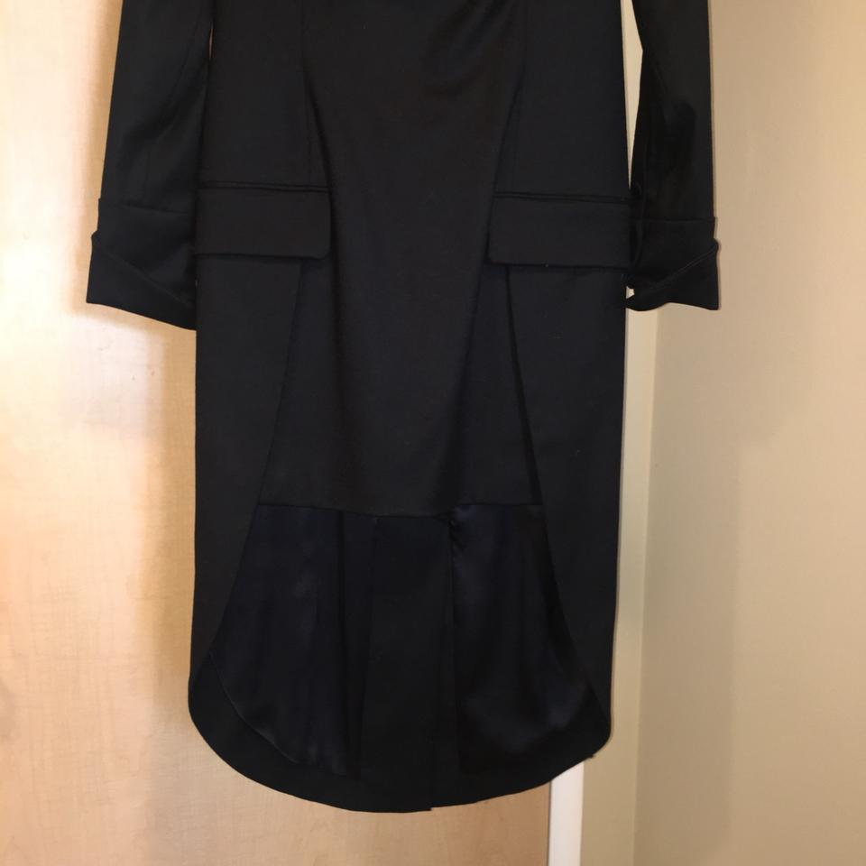 534d1d213d224 Alexander Wang Black Tuxedo Mid-length Formal Dress Size 6 (S) - Tradesy