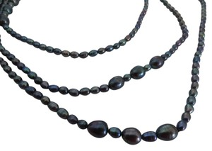 Other Honora Peacock Freshwater 66 inch Endless Pearl Necklace
