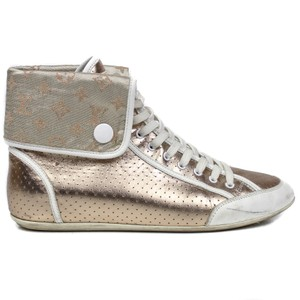 Louis Vuitton Sneaker Leather Gold Athletic