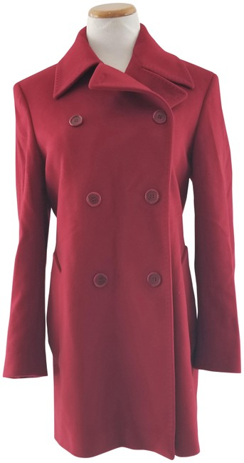 Item - Red Double Breasted Coat Size 8 (M)