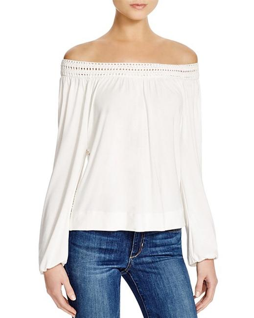 Ella Moss Off The Shoulder Top natural Image 1