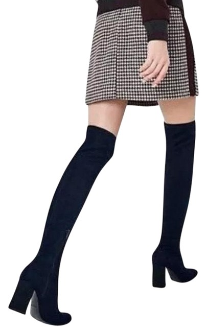 Item - Navy Blue Over-the-knee Boots/Booties Size US 6 Regular (M, B)