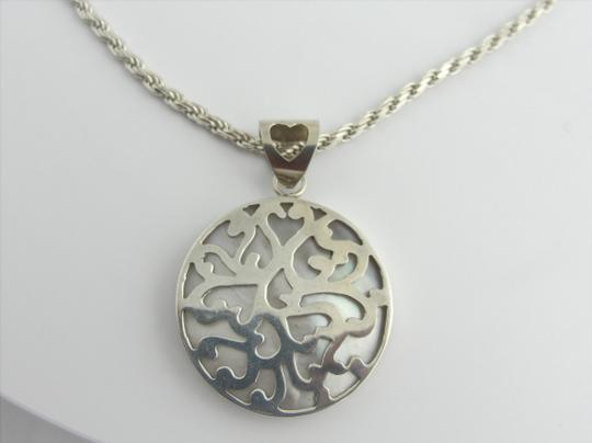 Other Vintage Pearl Pendant Necklace- Sterling Silver Image 2