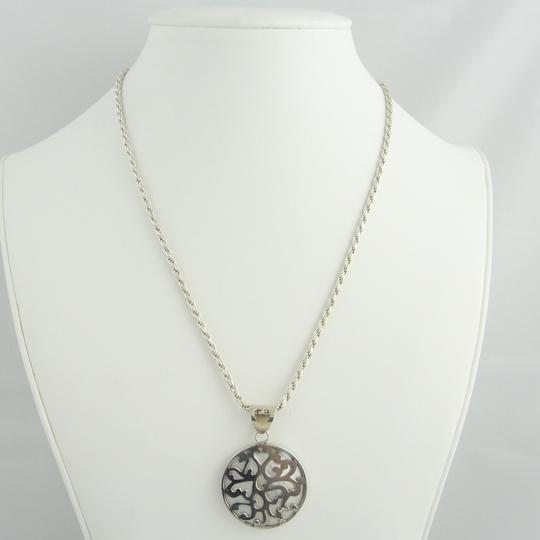 Other Vintage Pearl Pendant Necklace- Sterling Silver Image 3