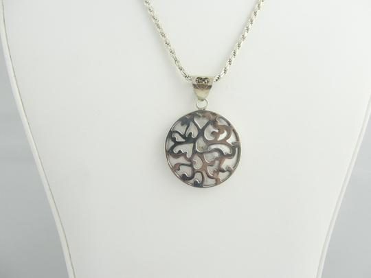 Other Vintage Pearl Pendant Necklace- Sterling Silver Image 5