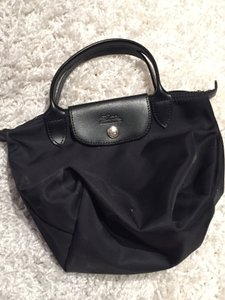 Longchamp French Sophisticated Chic Tote in Black