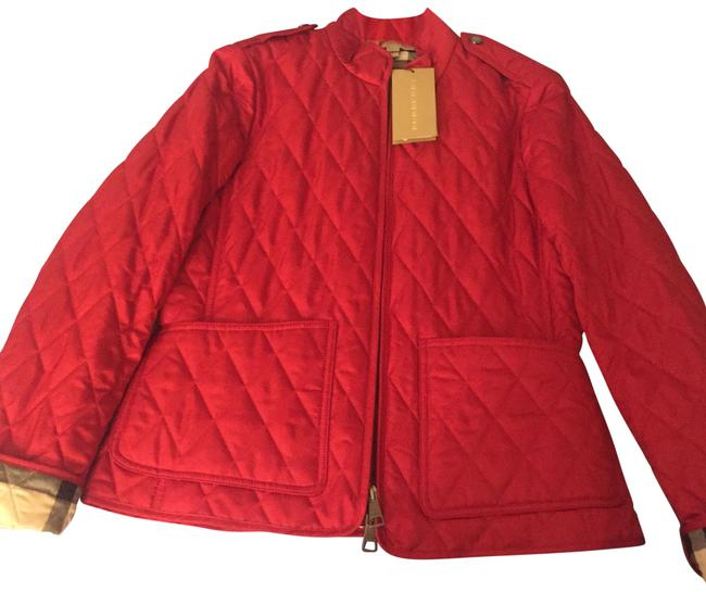Item - Red Quilted Edgefield Jacket Size 8 (M)