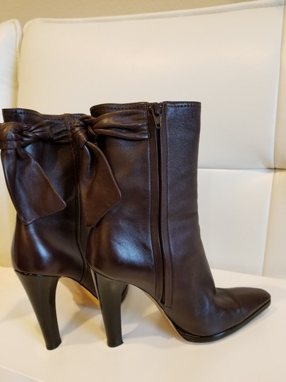 Christian Lacroix Leather Midcalf Dark brown Boots Image 5
