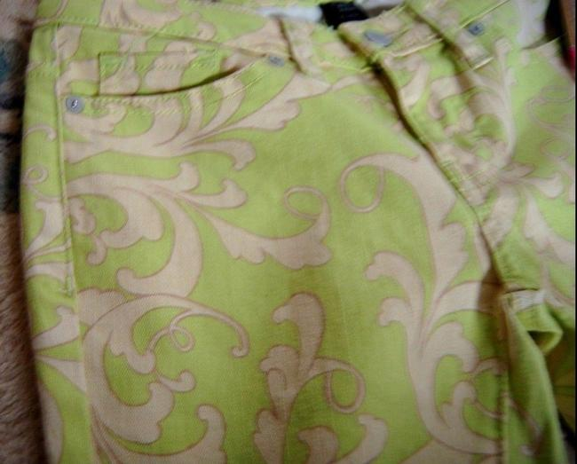 Mossimo Supply Co. Jeans Skinny Pants Green, Floral