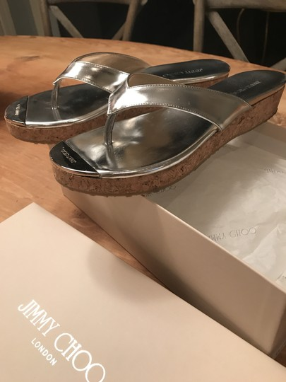 Jimmy Choo silver Sandals Image 1