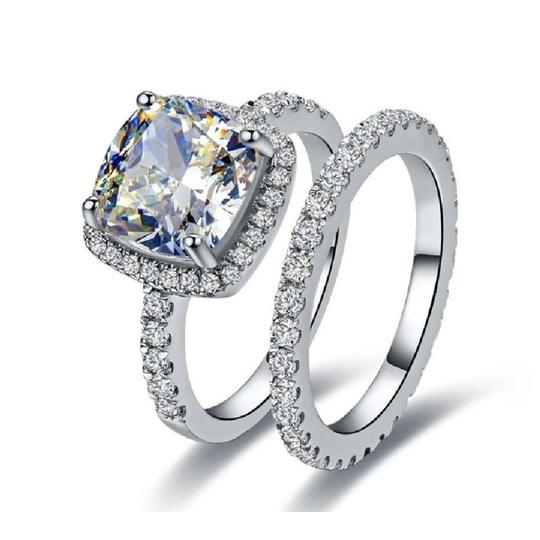 Eternity Stimulated Cushion Cut All Size In Stock Ring Image 1