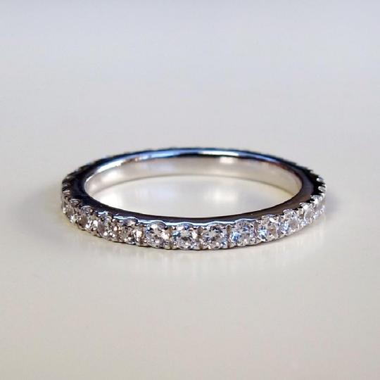 Eternity Stimulated Cushion Cut All Size In Stock Ring Image 4