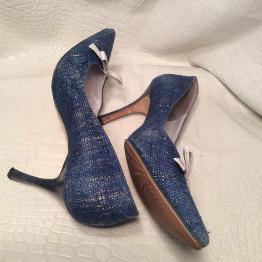 Manolo Blahnik blue Pumps Image 1