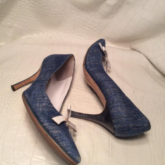 Manolo Blahnik blue Pumps Image 6