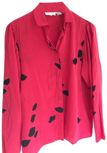 Christian Dior Top Red & Black