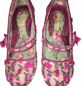 Irregular Choice pink Pumps
