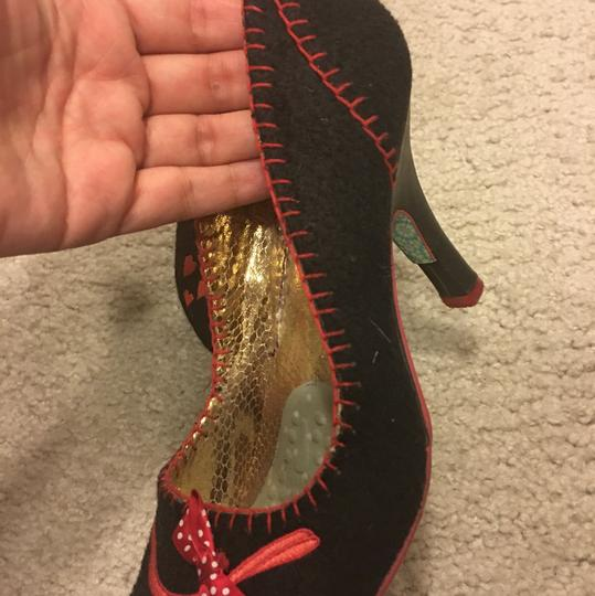 Irregular Choice black and red Pumps Image 2